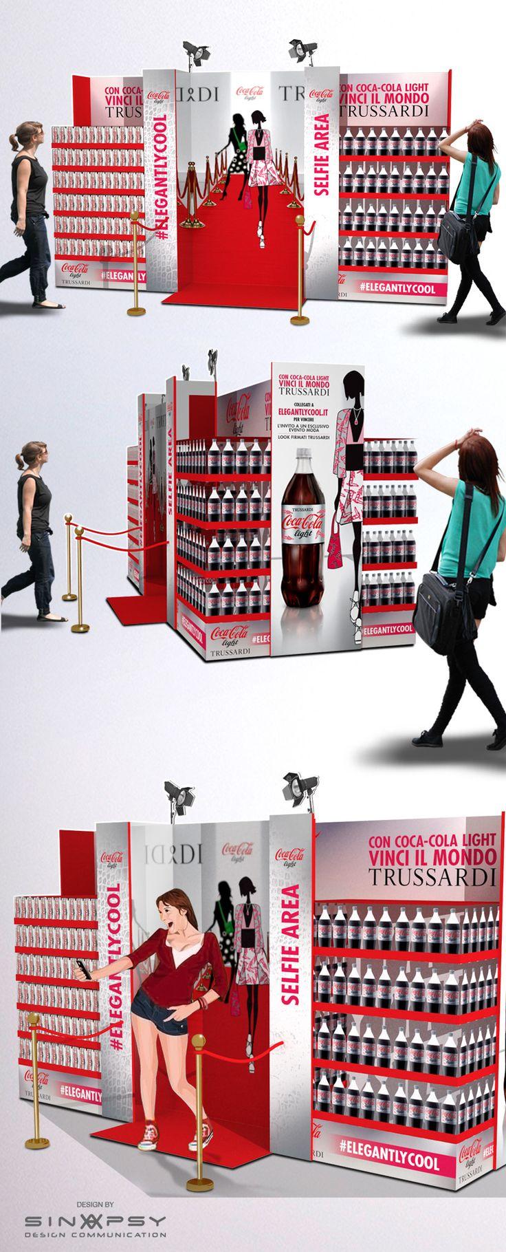 POS Coca-cola light - Trussardi