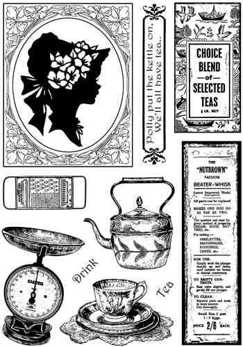 Crafty Individuals Rubber Stamps CI-340