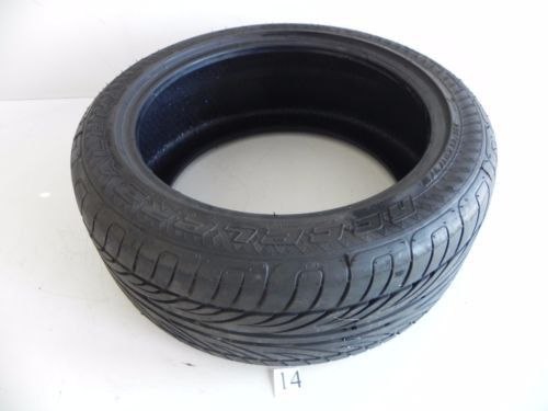 ACCELERA ALPHA 97W 1 USED WHEEL TIRE RUBBER 235/45/17 TREAD 4MM DEPTH #14
