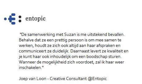 Aanbeveling Entopic