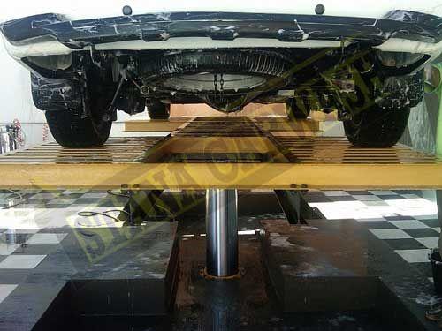 proses instalasi hidrolik cuci mobil thunder H-15