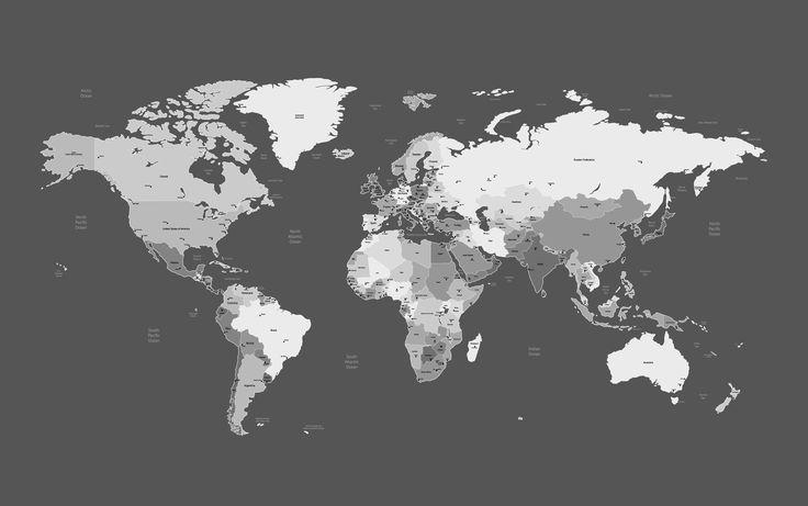 World map 01 vector Free Vector / 4Vector