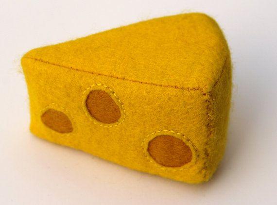 Filz Käse von mimimade1 auf Etsy