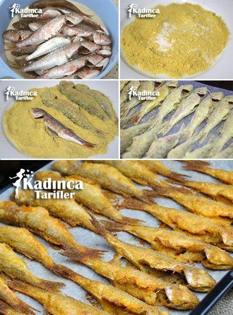 Fırında Barbun Balığı Kızartması
