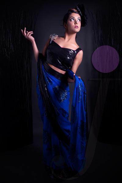 "Javeda - 2012 Spring Collection ""Blossom"" (Sari)"