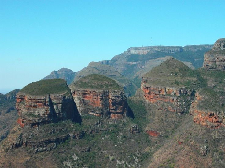 Three Rondavels Panorama Route South Africa - South Africa Travel Guide - GPSeTravelguides