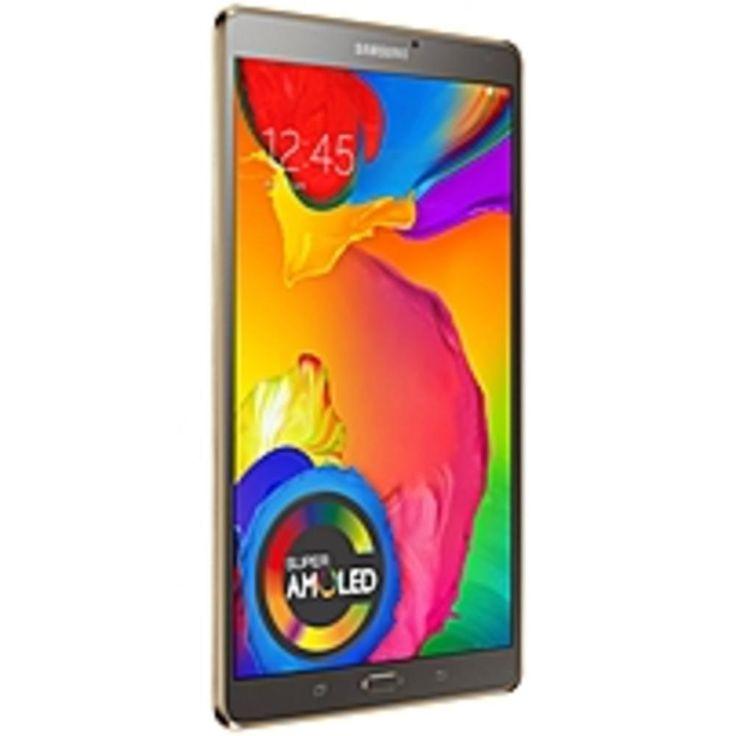 A Samsung Galaxy Tab S SM-T700 Tablet - 8.4 - 3 GB - Samsung Exynos 5 Octa 1.90 GHz - 16 GB - Android 4...