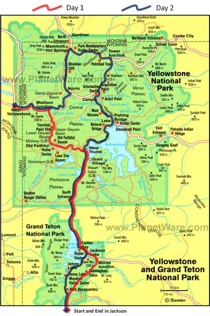 Yellowstone Map Bing Images Beautiful Pinterest