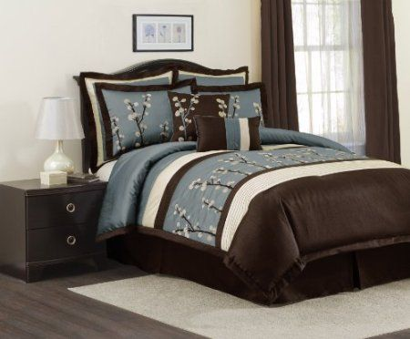 Blue And Brown Bedroom Set 20 best blue and brown bedding images on pinterest | brown bedding