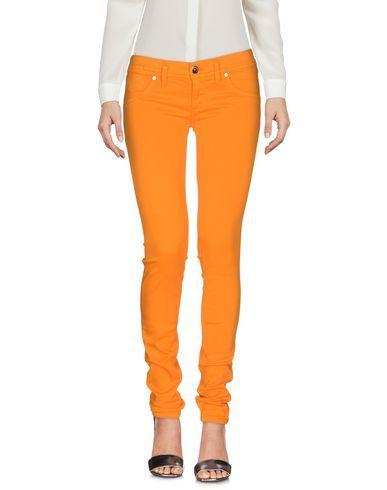 FREESOUL Women's Casual pants Orange 25W-32L jeans
