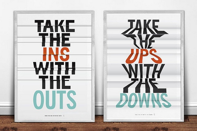ins and outs, ups and outs: Design Inspiration, Journal Inspiration, Design Graphics, Art, Ins Outs, Bonitos Posters, Graphic Inspiration
