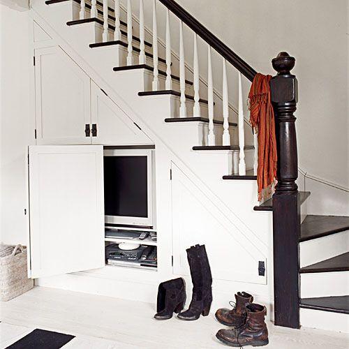Under Stairs TV