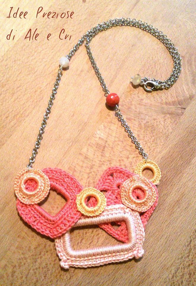 """Collane / necklace """"Idee Preziose di Ale e Cri"""""""