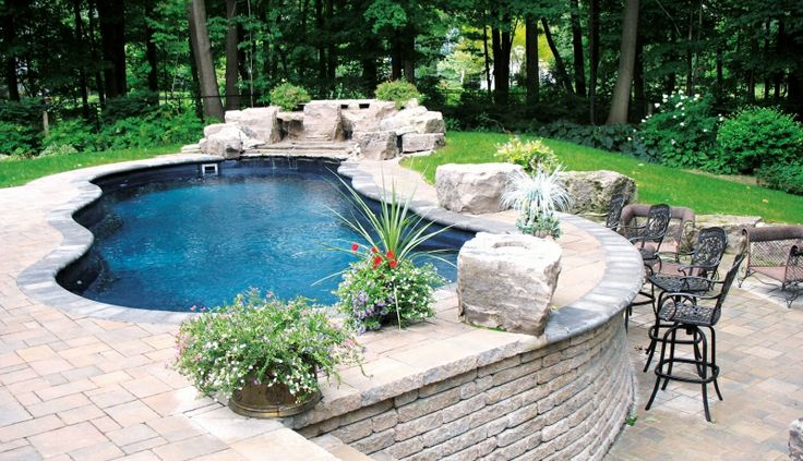 53 Best Images About Pools On Pinterest Swimming Pool Designs Fiberglass Pools And Hidden Pool