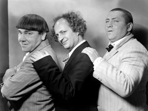 The Three Stooges in the 1930s Photo na AllPosters.com.br