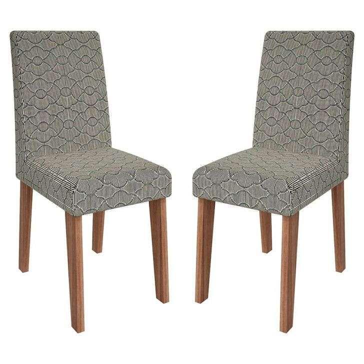 Kit 2 Cadeiras Cedro & Mandala Milena Cimol