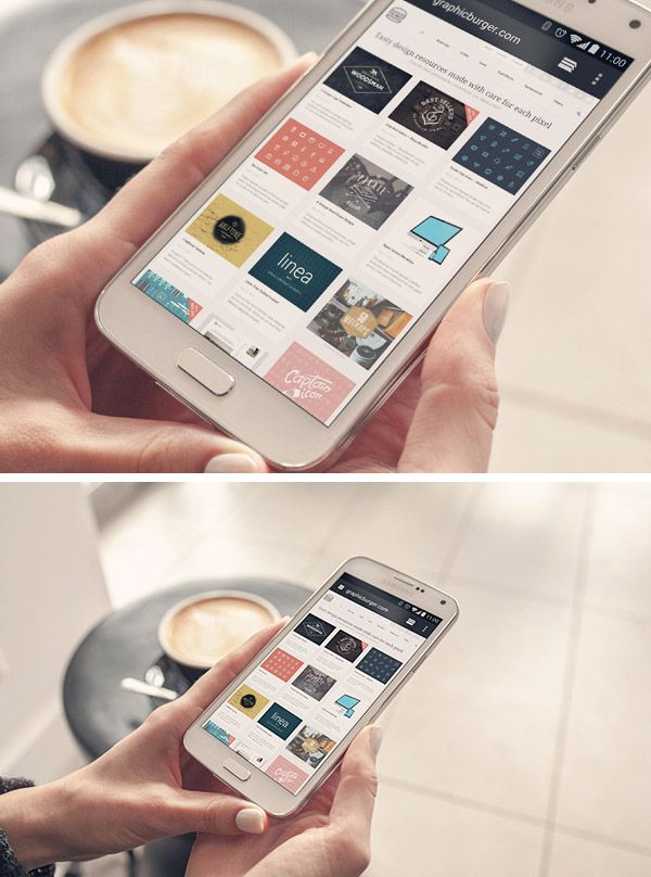 Android Phone PSD MockUp | GraphicBurger