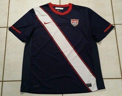 NIKE USA National Team 2010 DTOM Soccer Jersey Men's XL