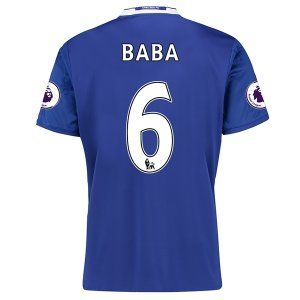 16-17 Chelsea Football Shirt Cheap Home Replica Shirts #6 BABA [E285]