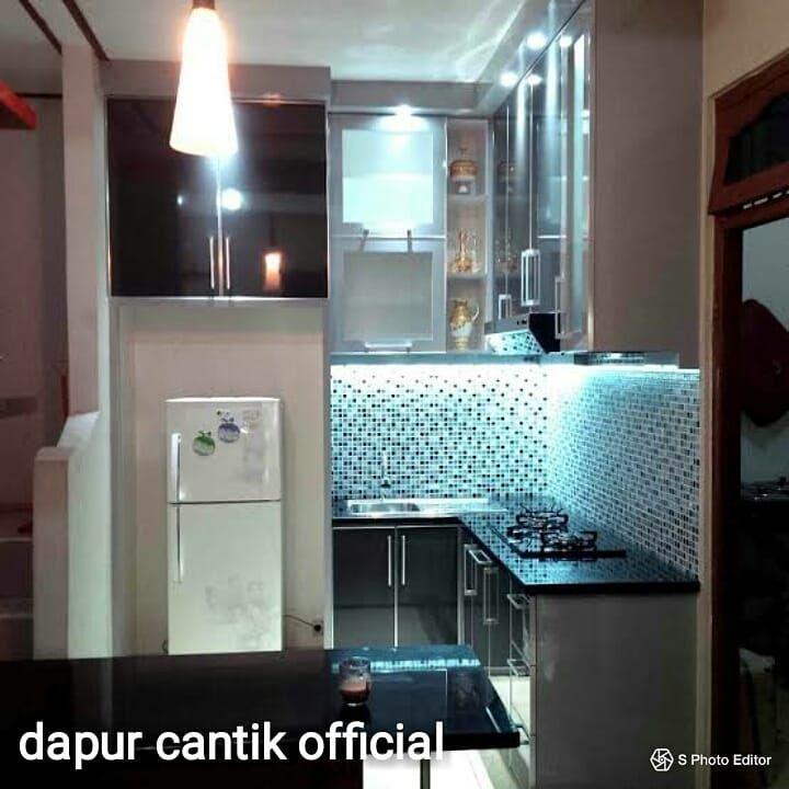 Dapur Cantik Official Furniture Siap Order Seluruh Jabodetabek Melayani Kitchen Set Mini Bar Lemari Pakaian Rak Tv Partisi Diy Kitchen Decor Decor Home Decor