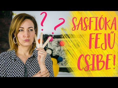 SASFIÓKA FEJŰ CSIBE! Igen, ez sikerült...   INSPIRÁCIÓK Csorba Anitától - YouTube