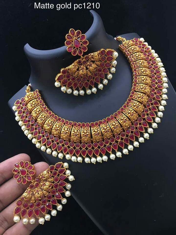 53f0e7f295592 Pin by Aarti Shetty on Necklace | Jewelry, Gold ornaments