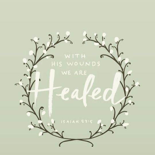 Healed.
