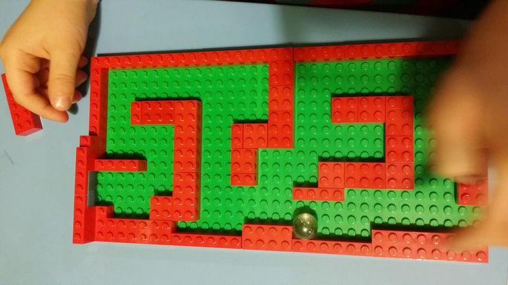 Tominowo: Lego labirynt dla kulki
