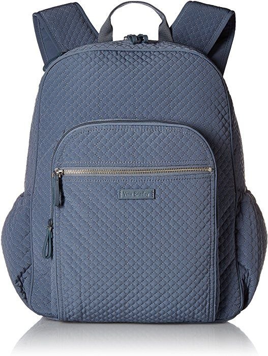 5f643e7bafb0 Amazon.com  Vera Bradley Iconic Campus Backpack