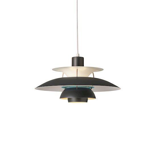 Lampe: PH 5 & PH 50 Taklampe Designer: Poul Henningsen Leverandør louispoulsen År: 2008