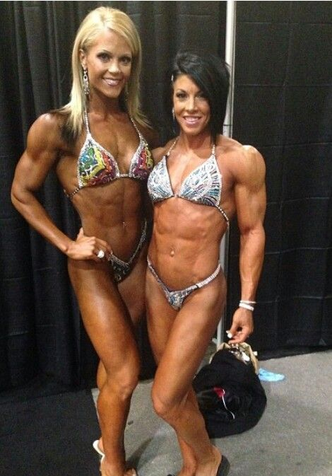 2013 Ms.Figure Olympia Nicole Wilkins-lee & Ms.Physique Olympia Dana Lynn Bailey