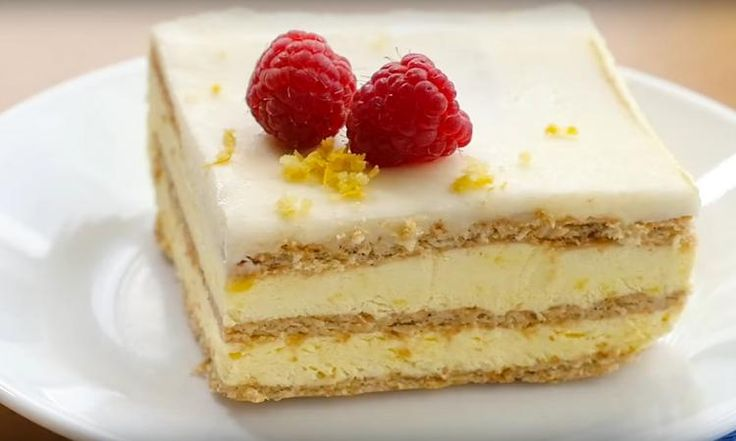 Un gâteau au citron SANS CUISSON... presque trop FACILE à faire pour un résultat si PARFAIT!