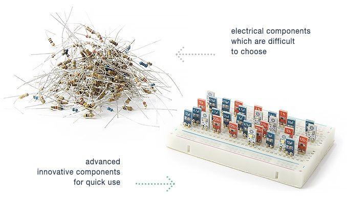 iv-Robotics, First Resistors&Capacitor adapted to Breadboard by Yauheni Kazharski — Kickstarter