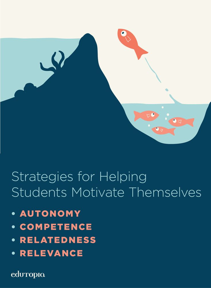 Consider using autonomy, competence, relatedness, and relevance as practical classroom strategies to reinforce the intrinsic motivation students need for making the most of their learning.