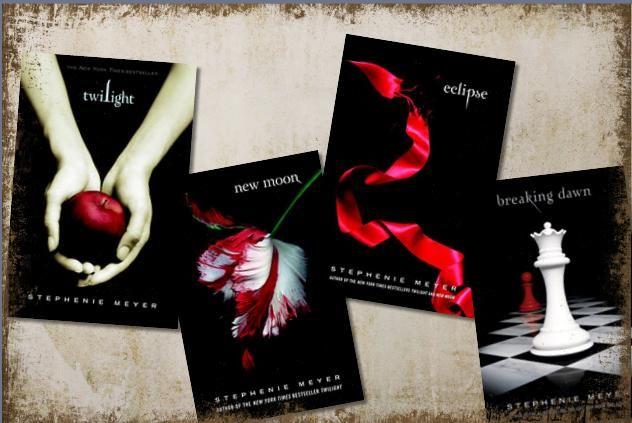 Twilight Saga (Twilight Saga, New Moon, Eclipse, and Breaking Dawn)