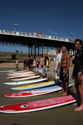 Paddle round the Pier #Brighton #PRTP