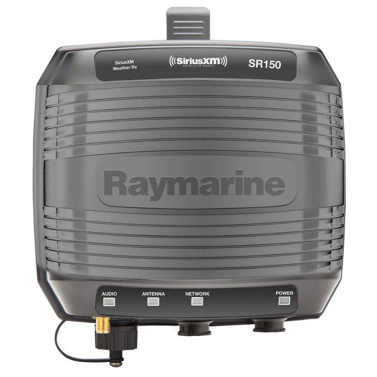 Raymarine E70161 SR150 SiriusXM Weather & Satellite Radio Receiver