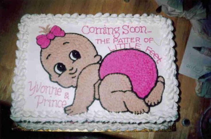 Simple Cake Decorating Ideas For Baby Shower : Baby Shower Sheet Cakes for Girls Back to Post :The Best ...