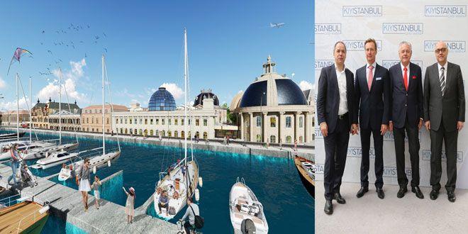 Kıyı İstanbul 500 milyon Euro'yu aşan bir yatırımla Büyükçekmece'de yükseliyor… Yeditepe Marina ortaklığı'nın projesi Kıyı İstanbul'da marina, otel ve Avrupa'nın en popüler 7 şehrinden esinlenerek tasarlanan özel bir çarşı bölümü yer alacak… İşte projenin tanıtım videosu ve görselleriyle detaylar… Dünyanın pek çok ülkesinde 40'dan fazla sektörde yatırımları bulunan Alman ve İsviçreli yatırımcıların ortaklığı ile kurulan ...