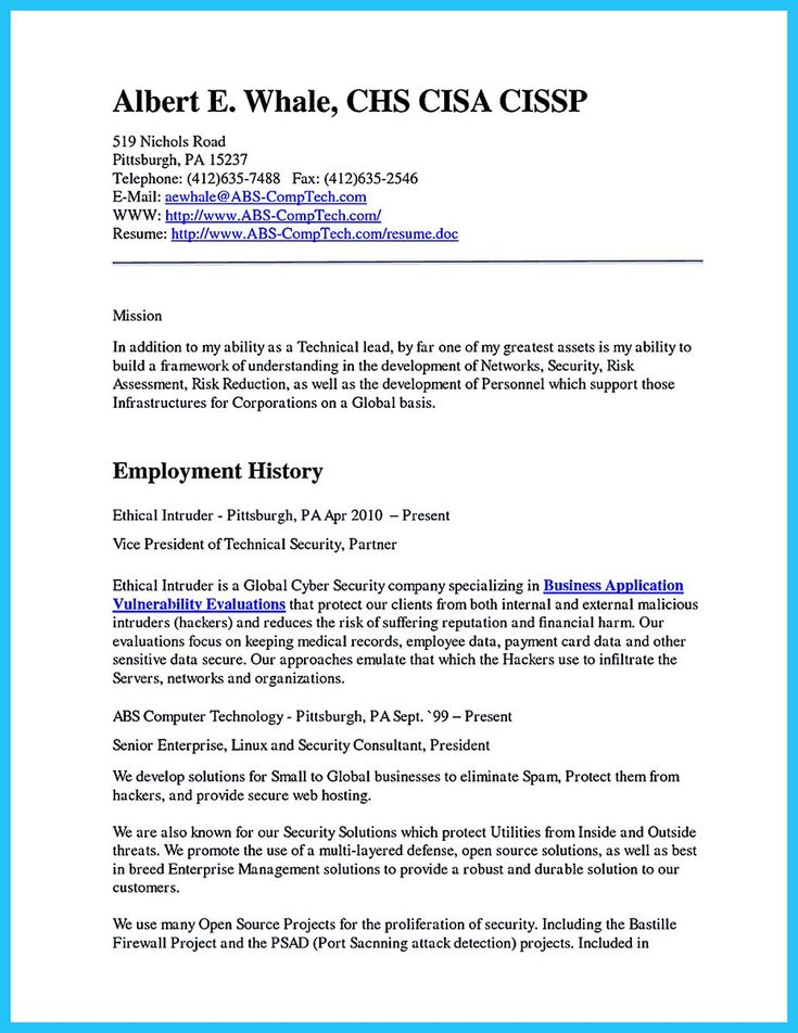 nice powerful cyber security resume to get hired right away resume template pinterest cv - Cyber Security Resume