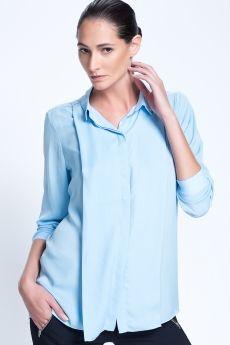Taş Detaylı Gömlek Mavi 1