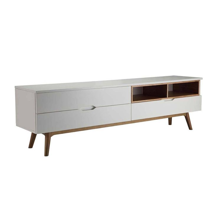 Buy Modern TV Units Online or Visit Our Showrooms To Get Inspired With The Latest TV Units From Life Interiors - Tango TV Cabinet (White)