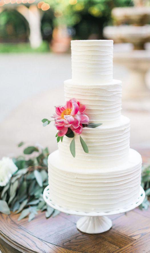 Featured Photographer: Elisabeth Carol Photography; Wedding Cake: Sugar Bee Sweets Bakery