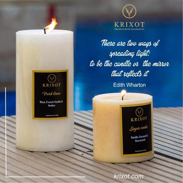Spread the fragrance, spread light with Krixot! Shop Now! Visit : http://www.krixot.com/