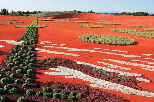 Sand Garden, Australian Garden -  Kevin Taylor