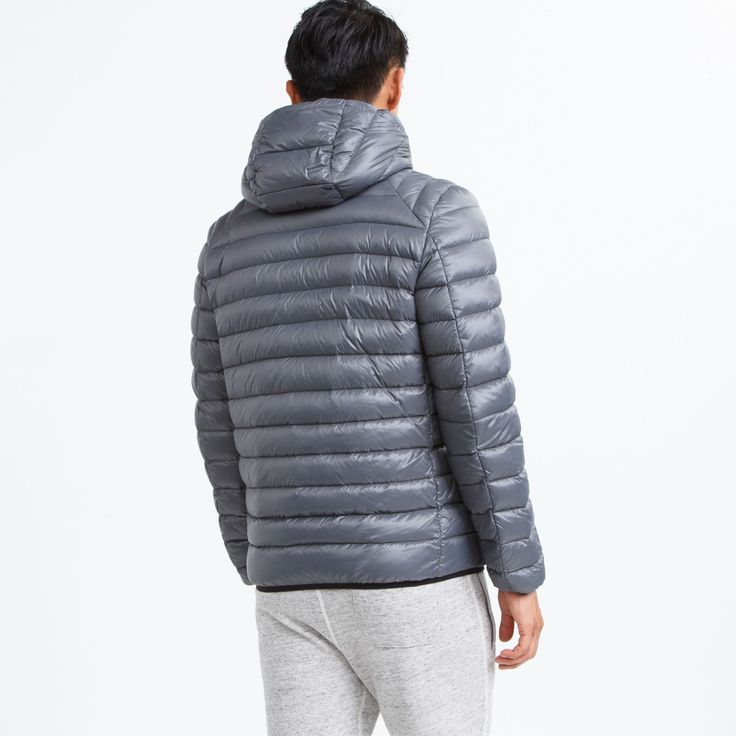 Algonquin Down Jacket | Roots Mens Jackets - F/W 2015/2016, style 01010459, Grey