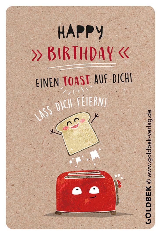 Postkarten - Geburtstag Humor. Handgezeichnete Illustrationen. I love it ... :)