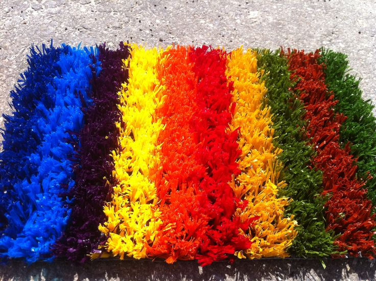 lawn decoration, different colors, different sizes, different textures