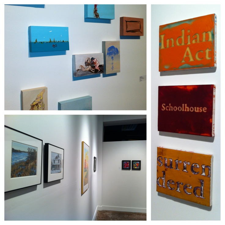 Our Small Works Show - Up for December 2012 and January 2013