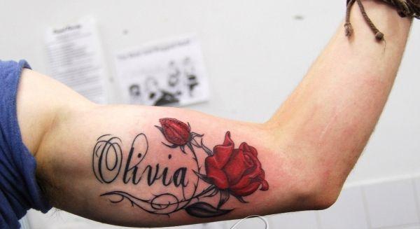 Name Tattoo Ideas Olivia